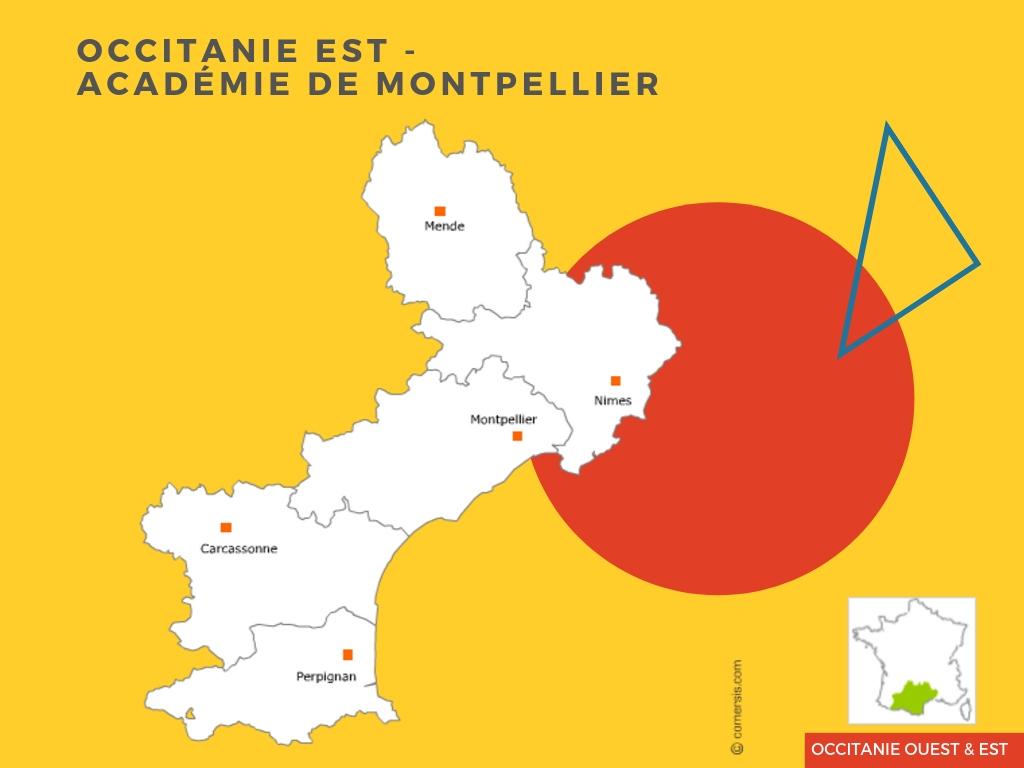 Carte-Occitanie-Est-académie-de-Montpellier-CSF-prépa-parcoursup-IFSI
