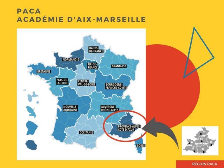 Parcoursup IFSI académie d'Aix-Marseille