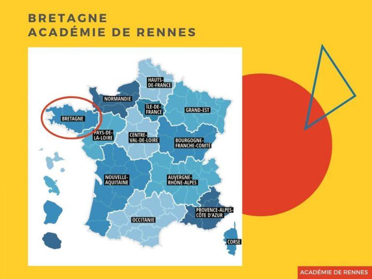Parcoursup IFSI académie de Rennes, Région Bretagne