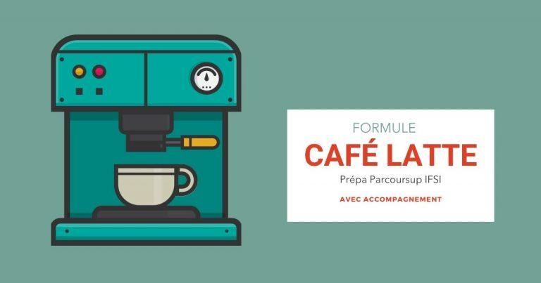 Formule Café Latte coaching accompagnement CSF prépa en ligne Parcoursup IFSI