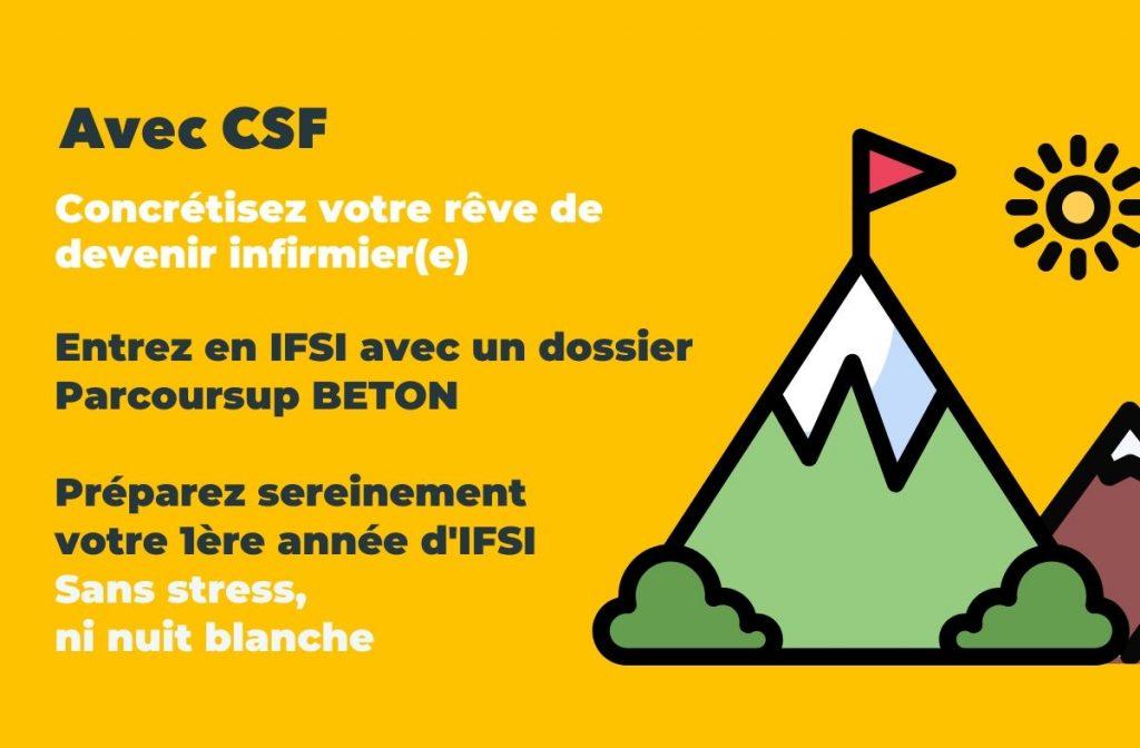 Avec CSF concrétisez votre rêve de devenir infirmier(e)