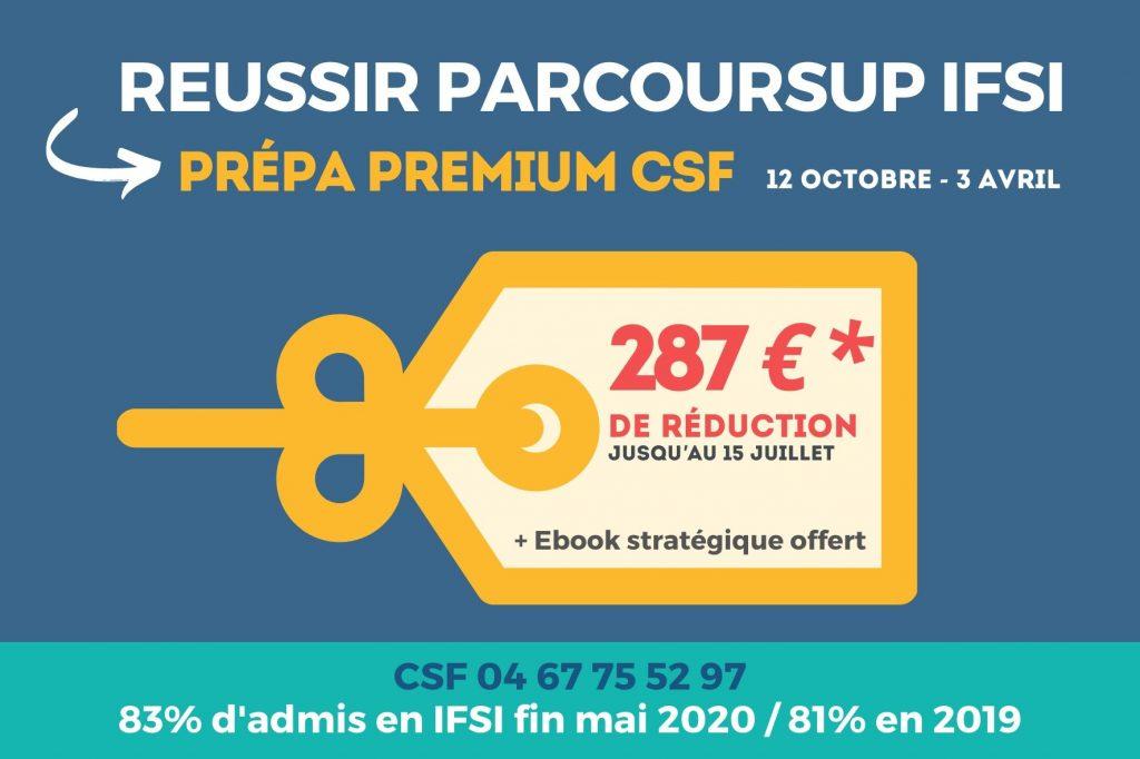 Post FB CSF Promo Prépa Premium 2020-2021 83% d'admis